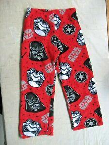 Kids Star Wars Pajama Bottoms Size Medium