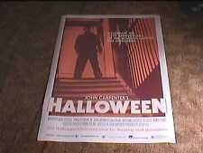 "HALLOWEEN 35TH ANN ""A"" ROLL 27X40 ORIG MOVIE POSTER MICHAEL MYERS JOHN CARPENTER"