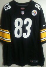 Authentic Heath Miller Pittsburgh Steelers NIKE On Field NFL Jersey, Size: XXL