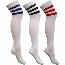 Unbranded Cotton Machine Washable Striped Socks for Women