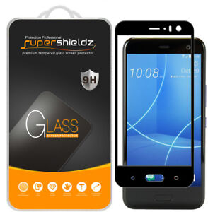 Supershieldz for HTC U11 Life Full Cover Tempered Glass Screen Protector (Black)