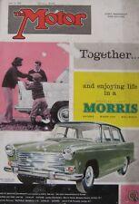 Motor magazine 25/5/1960 featuring Goggomobil road test, Campbell CN7 Bluebird