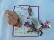 Dino Riders Saurolophus and Instructions