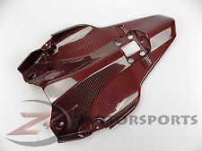 Ducati 848 1098 1198 Rear Lower Bottom Tail Tray Fairing Cowl Carbon Fiber Red