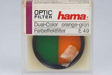 Hama, Dual Color orange-grün, Ø49mm in OVP #842/490