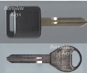 Replacement Transponder Key Blank Fits Infiniti and Many Car Models *