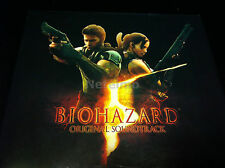 1054-6 Biohazard 5 Resident Evil Original Soundtrack PS3 XBOX360 GAME MUSIC 3 CD