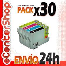 30 Cartuchos T1281 T1282 T1283 T1284 NON-OEM Epson Stylus SX235W 24H