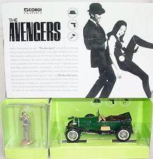 "Corgi Toys 1:43 BENTLEY ""THE AVENGERS""  + John Steed Fig. TV Movie Model Car MIB"