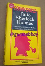 TUTTO SHERLOCK HOLMES (Conan Doyle)