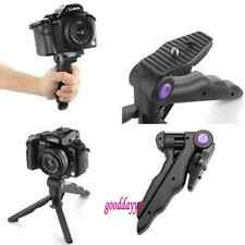 "2 in 1 1/4"" Portable Folding Flexible Tripod Camera Stand for Canon Nikon Gopro"