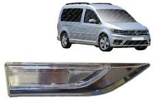 VW Caddy Side Marker Indicator Lens Lamp Chrome Right O/S 2015 Onwards  MKIV MK4