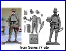 Series 77 90mm Americans, kit A21 Private, US Infantry WWI   ( Loc = H2 back)