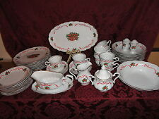 48 Pieces WAKBRZYCH Poland Southington by Baum BASKET OF CHEER China Set
