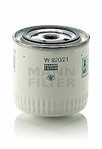 MANN Oil Filter W920/21 fits MG MGR V8 3.9