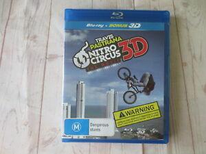 Travis Pastrana Nitro Circus The Movie 3D Bluray