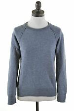 BANANA REPUBLIC Womens Crew Neck Jumper Sweater Size 6 XS Grey Wool  KM30