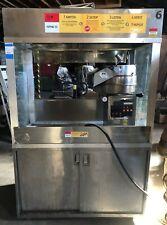 Cretors 32oz Enclosed President 4 Cabinet Commercial Popcorn Machine
