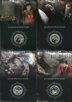Harry Potter 2006 San Diego Comic Con Silver Prop Card HP Set CC1 CC8