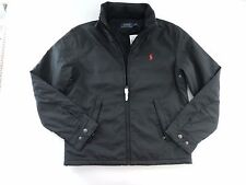 NWT Polo Ralph Lauren Men's Perry Jacket Fleece Lined Black Size L (Large)