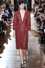 $4,595 Stella McCartney Embroidered Silk Dress NEW,size 42