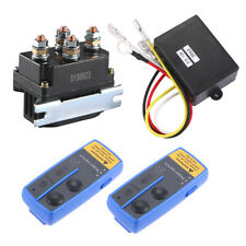 1x 12V 500A Winch Solenoid Relay For 8000lb-12000lb Winch Remote Control Us Fast