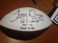 Tony Dungy Signed Indianapolis Colts Super Bowl Champs Inscribed Football