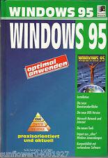 Windows 95 optimal anwenden von Martin Menge
