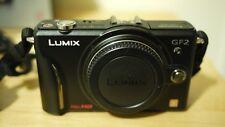 Panasonic LUMIX DMC-GF2 fotocamera digitale 12.1MP - Nero (Solo Corpo)