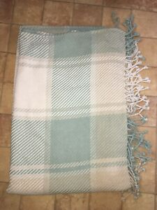Laura Ashley Extra Large Check Throw Blanket 160 X 210 Cm