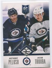 12/13 PANINI LIMITED ROOKIE RC ANTHONY PELUSO JACOB TROUBA 370/499 JETS *50199