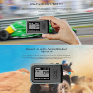 SKYRC GSM-015 GNSS GPS Speed Meter for RC Drones FPV Multirotor Quadcopter L1H1