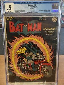 Batman #25 Only Joker/Penguin Team-Up 1st Villain Team-up CGC Graded Look!