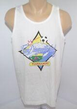 Vtg San Dieguito Surf Soccer Tournament Dale Mcleod Tank Top Muscle Shirt Mens L