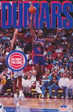POSTER: NBA BASKETBALL:JOE DUMARS - DETROIT PISTONS 1993 FREE SHIPPING !  RW3 B