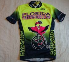 Nwot Louis Garnea Bicycle,Usa, Madefl Free Wheelers,shirt Biking Jersey,Xs Men