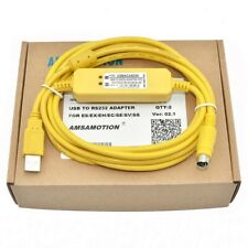 New USBACAB230 USB-DVP PLC Programming Cable USB TO RS232 Adapter For Delta DVP