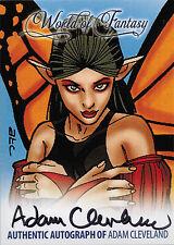 Breygent World of Fantasy Autograph Z-Card ZA-AC1 by Adam Cleveland