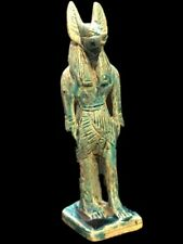 EGYPTIAN ANUBIS STATUE, LATE PERIOD 664 - 332 BC (15)