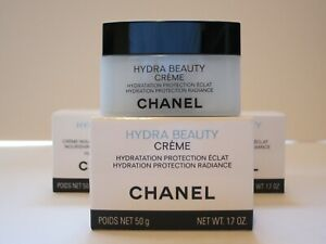 CHANEL HYDRA BEAUTY CRÈME HYDRATION PROTECTION RADIANCE 50G MADE IN FRANCE 2020