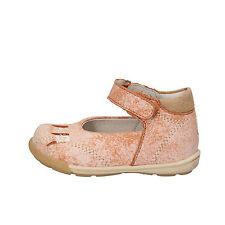scarpe bambina BALDUCCI 17 EU ballerine arancione pelle camoscio AF709