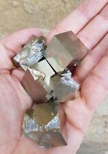 Pirite cubica, aggregati di cristalli - Lotto (cubic Pyrit - Navajun)