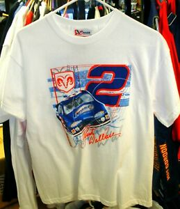 VINTAGE CHASE #2 PENSKE RACING YOUTH TEE SHIRT RUSTY WALLACE EXTRA LARGE 18/20