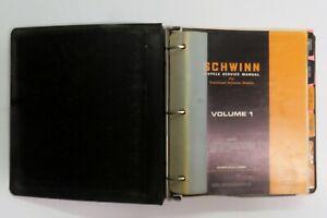 Schwinn Vintage Service Manuel Volume One 1    1969