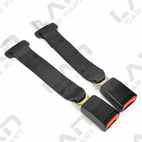 "2PCS Universal 14"" Car Seat Seatbelt Safety Extender Belt Extension 7/8"" BUCKLE"