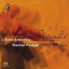 Rachel Podger Brecon Baroque - Vivaldi: L'estro Armonico (NEW SACD)