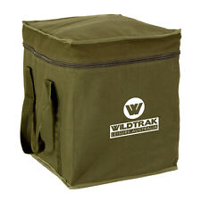 Wildtrak Canvas Toilet 44X43X39CM Bag Camping Tent Outdoor Travel Camp Adventure