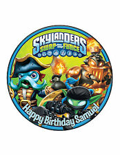 Skylanders Edible Cake Image Personalised Birthday Decoration Party Topper
