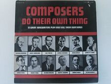 Composers Do Their Own Thing - Pelican 120 - LP