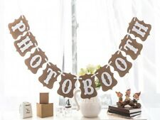 Baby Shower Wedding Party Bunting Banner Garland Photo Props Hanging Decor Sign